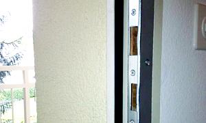 Sichern Sie Ihre Türe mit starken  Sicherheitsschliessblechen