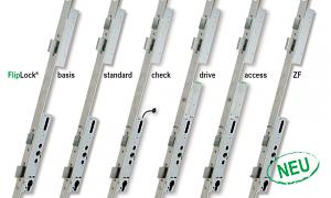Neue MSL Flip-Lock Schlosslinie - eine sichere und intelligente Lösung